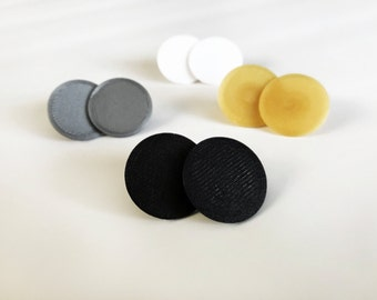 Replacement Thumb Pads for Fidget Hand Spinners | 2 Pieces | Round | Snaps Together | Add Color to Your Fidget Spinner | Multiple Colors