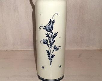 Vintage Bols Delft Blue Decanter / Bottle