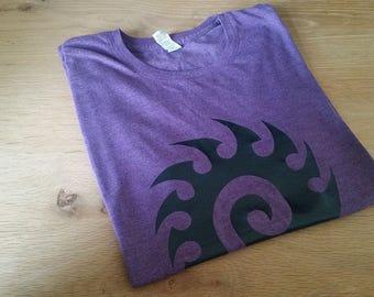 StarCraft Zerg themed Men's Triblend T-shirt
