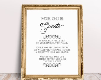 Bathroom Guest Sign In Book without you our puzzle isnt complete please sign a piece