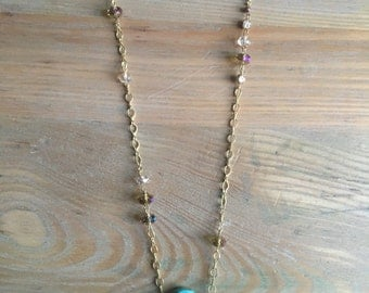 Roseway Turquoise Necklace