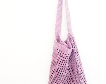 20% OFF MARK DOWN Market / Beach Bag in Lavender and Grey