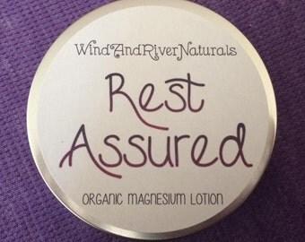Rest Assured Organic Magnesium Lotion