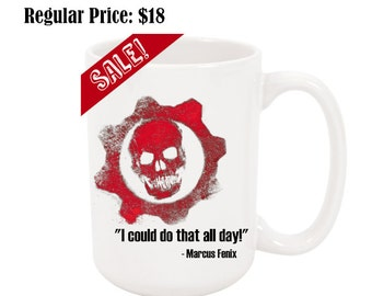 Gears of War 15oz Ceramic Coffee Mug