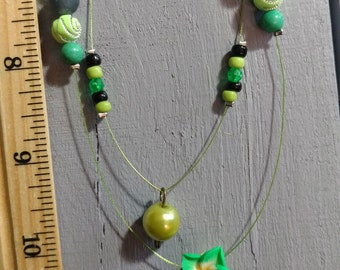 Lime Wire with Metal heart