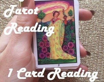 Same Day 1 Card Focused Psychic Tarot Reading - What changes are coming? - Experienced, Empathic Reader GREAT VALUE!