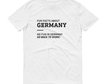Fun Facts About Germany - Men's/Unisex T-Shirt