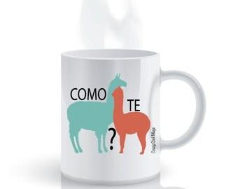 Como Te Llama Llama Coffee Mug