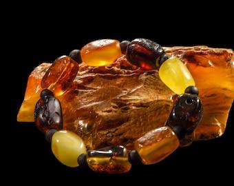 """Amber Bracelet """"Warming Beads"""""""