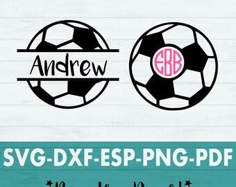 Soccer svg- Soccer Ball Svg- Monogram Soccer Svg - Soccer Mom svg- Soccer Name Svg- Soccer dxp - Soccer pdf- Sports svg