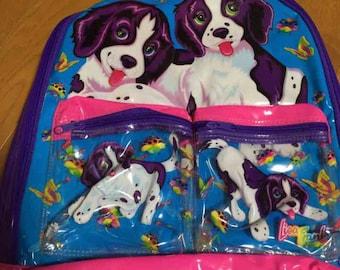 vintage Lisa Frank backpack bag