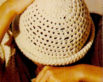 Vintage Hat Crochet Pattern