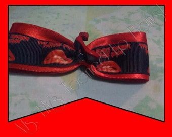 Red Rocky Horror Picture Show Bow with Heel