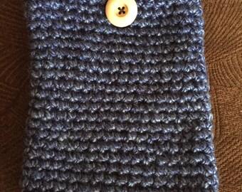 Blue iPad Mini Case | Blue | Crochet | Tech Gifts | Tablet Case