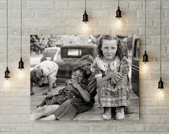 Sibling Photography, Brothers & Sisters Print, Black White Photography, Child Decor, Gift for Sister Gift for Brother