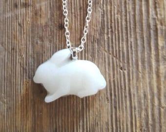 Bunny pendant & chain