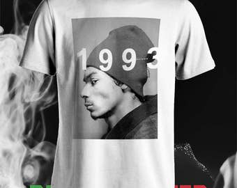 Snoop Dogg 1993 rap hiphop T-Shirt