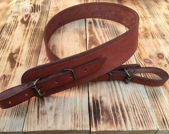 handmade leather rifle slings leather rifle sling etsy 3909