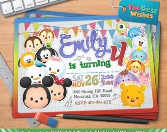 il_340x270.1147785751_h119 tsum tsum invitation etsy,Tsum Tsum Invitation