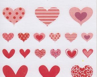 Hearts 2 | 194 | Planner Sticker | Kikki-K | Happy Planner | Erin Condren