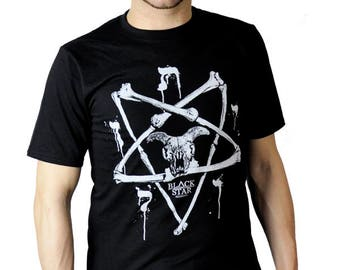 Bone Pentagram Top