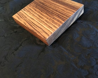 Zebra Wood Charcuterie Board, Serving Board, Cutting Board