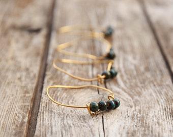 Bangle Stack Bracelets, green Bangle, Fabric bracelets, Stacking Bracelets, Fabric Wrapped Bracelet, charm bracelet Fabric, Gypsy bracelet