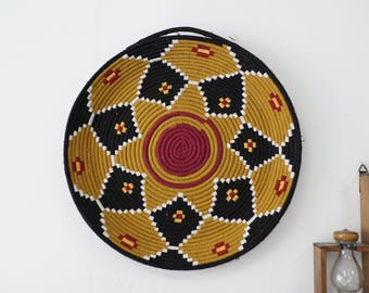 Moroccan Wool Plate