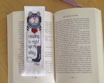 Bookmark /  hand embroidery by cross-stitch