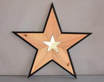 Wooden Star 5118