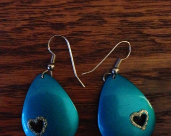 Disco Hearts Earrings