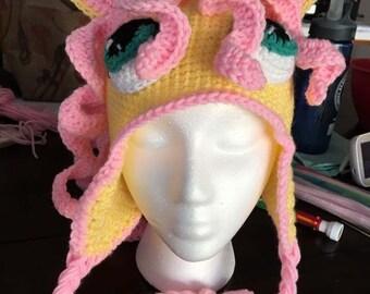 crochet Fluttershy Hat