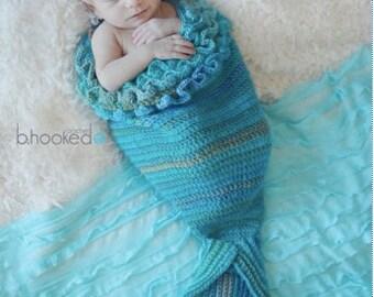 Newborn Mermaid Cocoon