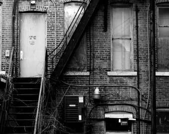 Wall art-NYC-architecture-canvas-photography-print-city-black and white