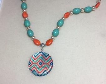 Navajo style necklace
