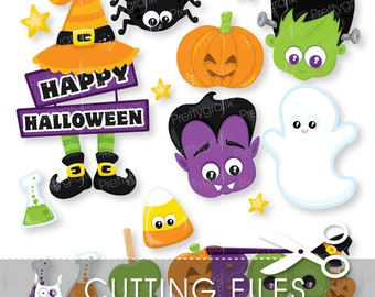 Halloween props cutting files, svg, dxf, pdf, eps included - cutting files for cricut and cameo - Cutting Files SVG - CT919