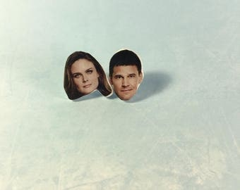 Brennan and Booth Stud Earrings