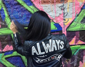 Always & Forever Faux Leather Jacket