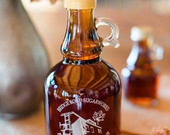 Pure Vermont Amber Maple Syrup