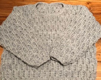 Hand Knitted Baby Jumper Made To Order