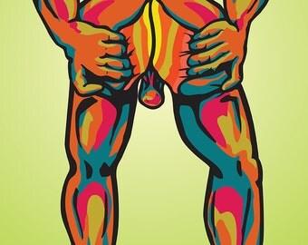 Hung Dada - Butt (Framed)
