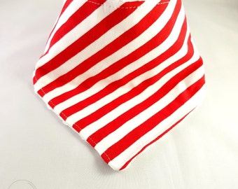 Dribble Bib, Red, Baby Dribble Bib, Drool Bib, Baby Shower Gift