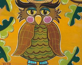 Winston the Owl 5x5