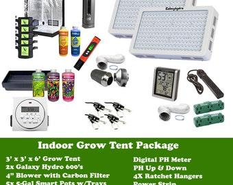 Free Shipping 3' x 3' x 6' Indoor Grow Room Tent Package, Indoor Garden, Grow Room Package