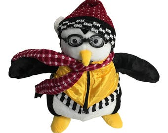 Huggsy Penguin Friends Joey Tribbiani Hugsy Doll Full Size Plush Toy Stuffed Animal TV Show Bedtime Penguin Pal Brand New Gift High Quality