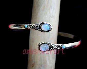 Armlet , Arm cuff, Upper Arm Cuff, Armband, Silver Armlet, Gypsy Armlet, Hammered Arm cuff, Handmade Armlet, Tribal Armlet, Gift Arm cuff,