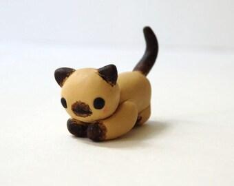 Siamese Kitty Mini Figure
