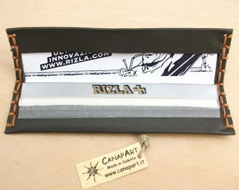 Rizla papers box handcrafted leather maps long Tuxedo. Canapart
