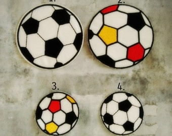 Soccer Ball Iron On Patches