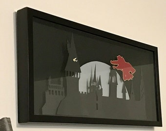 Harry Potter Quidditch Silhouette